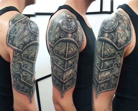 armor tattoo images  designs  men
