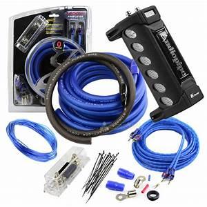 Stinger True 0 Gauge Amp Wiring Kit 1500w Watt 6 Farad