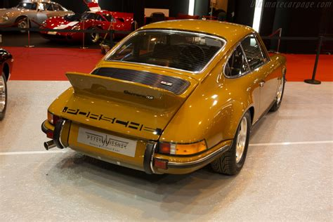 Porsche 911 Carrera RS 2.7 - Entrant: Peter Wiesner Sports ...