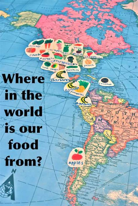 Where In The World Is Your Food From? (food Mapping