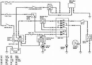 Honda Goldwing Gl1500 Starting System Circuit  U2013 Schematic
