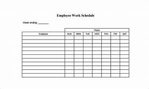work schedule template for multiple employees With multiple employee schedule template