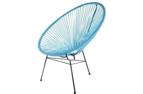 fauteuil la chaise longue turquoise acapulco fauteuil design pas cher