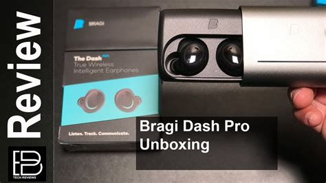 new 2017 bragi dash pro unboxing headphone that track