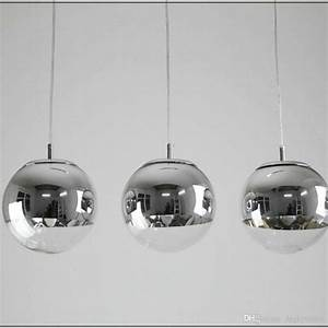 Silver ball pendant light tequestadrum