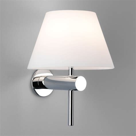 astro lighting 0343 roma ip44 bathroom wall light polished