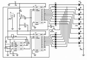knight rider running light circuit radio wiring diagram With electronic circuit componnent data lesson and etc 4017 cmos