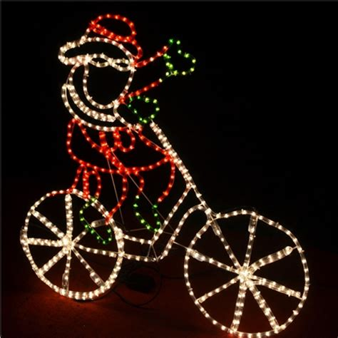 santa riding bicycle christmas lights online shopping