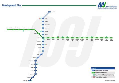 transjakarta busway peta jalur  rute mrt jakarta