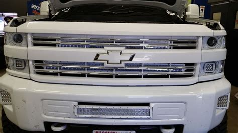 30 inch led light bar grille bracket 2014 2015