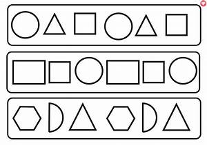 Clipart shapes black and white