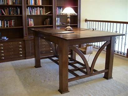 Library Table Tables Woodweb Project Oak Any