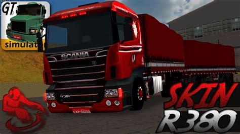 grand truck simulator skin scania comandante romeu e