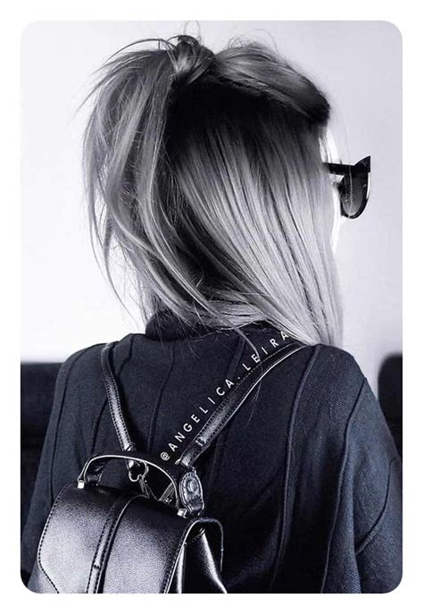 long  short grey hairstyles  style easily