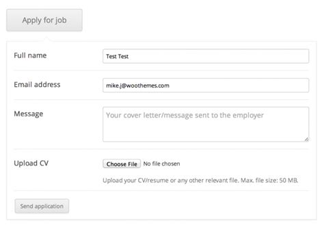 Applications  Wp Job Manager