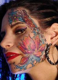 Face Tattoo Designs