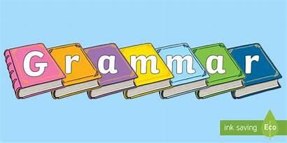Grammar Display Books Outs Cut Twinkl Resource