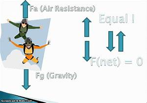 Newton U0026 39 S Second Law With Parachutes