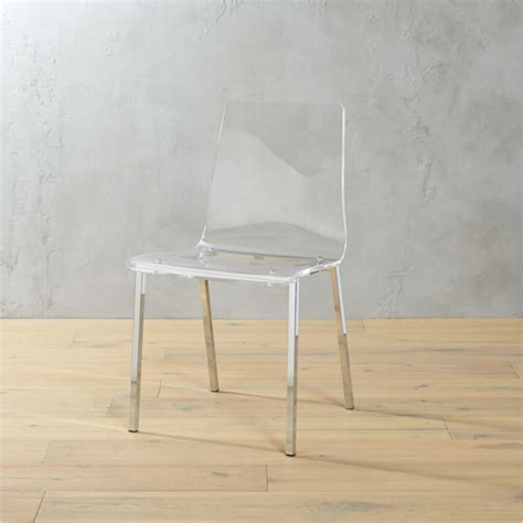 vapor acrylic chair reviews cb