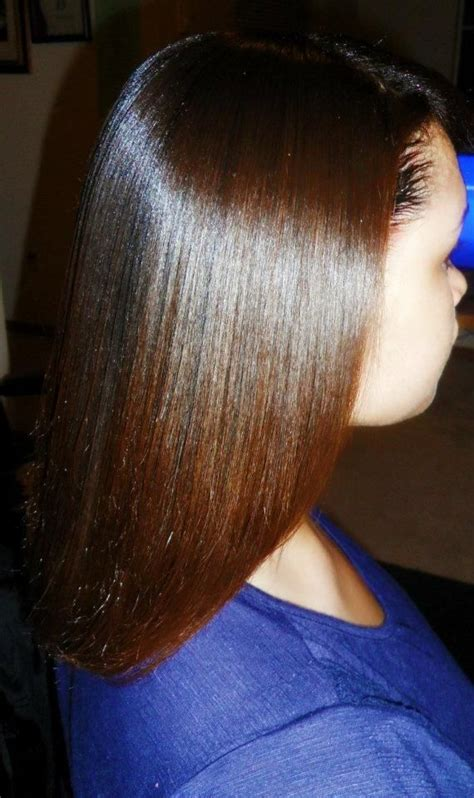 Coloring Relaxed Hair by Growing Healthy Relaxed Hair Hair Color