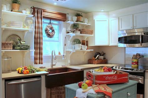 kitchen open cabinets when and how to add a copper farmhouse sink to a kitchen Farmhouse