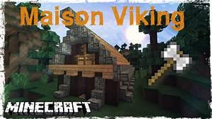 Comment Faire Une Maison : tuto minecraft comment faire une maison viking youtube ~ Dallasstarsshop.com Idées de Décoration