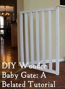 diy baby and dog gate instructions With build your own dog door