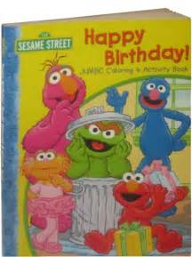 Sesame Street Birthday Coloring Book
