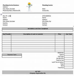 fake invoices templates 14 free plumbing invoice templates With fake invoice template