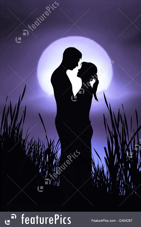people romantic couple stock illustration