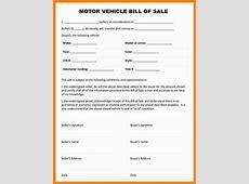 Car Bill Of Sale Pdf Template Business