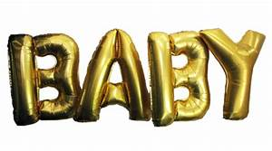baby gold letter balloons helium balloons perth name With write your name in gold letters