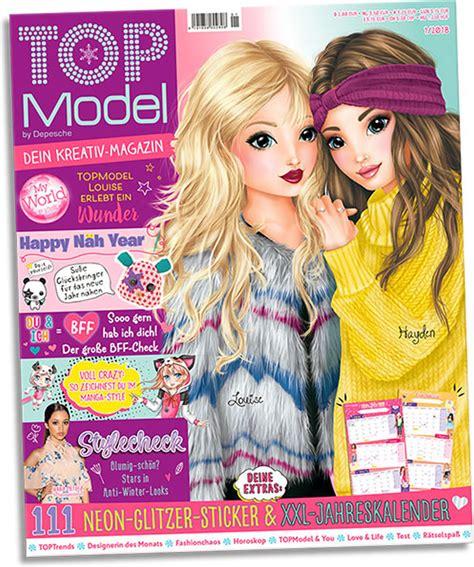 Best Models Topmodel Magazine January 2018 German Version At