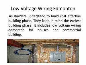 Low Voltage Wiring Edmonton By Select Security Systems Ltd