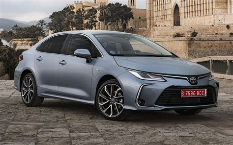 toyota corolla sedan hybrid wallpapers  hd