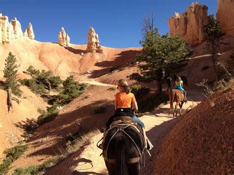 canyon bryce riding horseback utah natural trail horse hikes