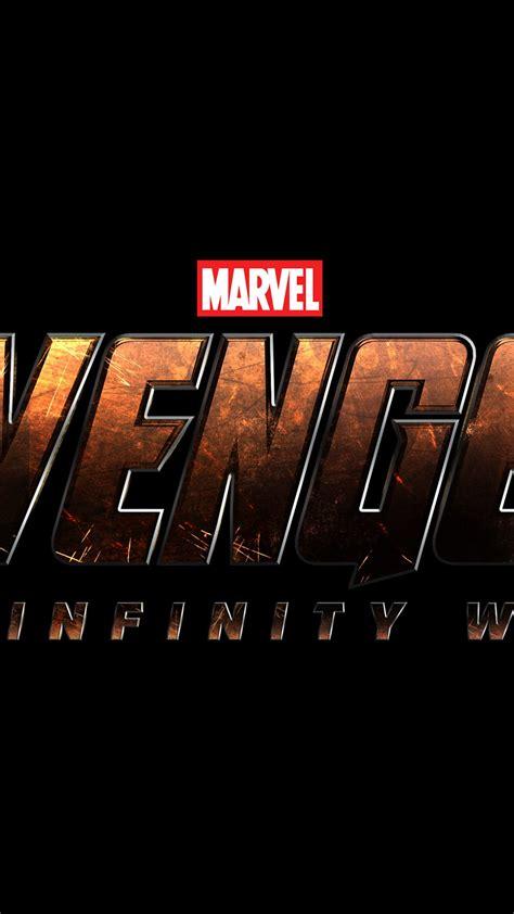 avengers infinity war  logo  uhd wallpaper