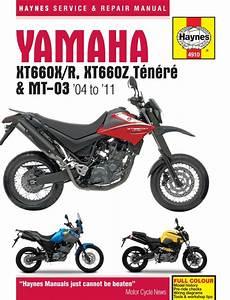 Manual Haynes For 2006 Yamaha Xt 660 R  5vk4  For Sale