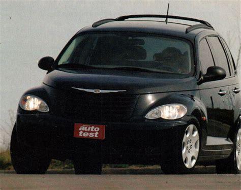 Nissan Chrysler by Chrysler Pt Cruiser Classic Vs Nissan Tiida Visia