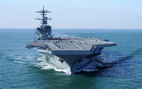 Uss-george-hw-bush Wallpaper And Background Image