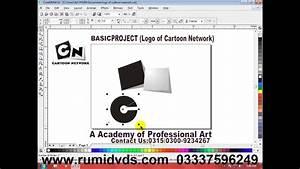 How To Create Cartoon Network Logo In Coreldraw X1 To X7