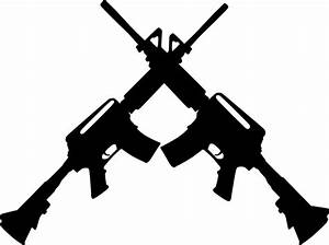 Crossed Ar15 Clip Art at Clker.com - vector clip art ...