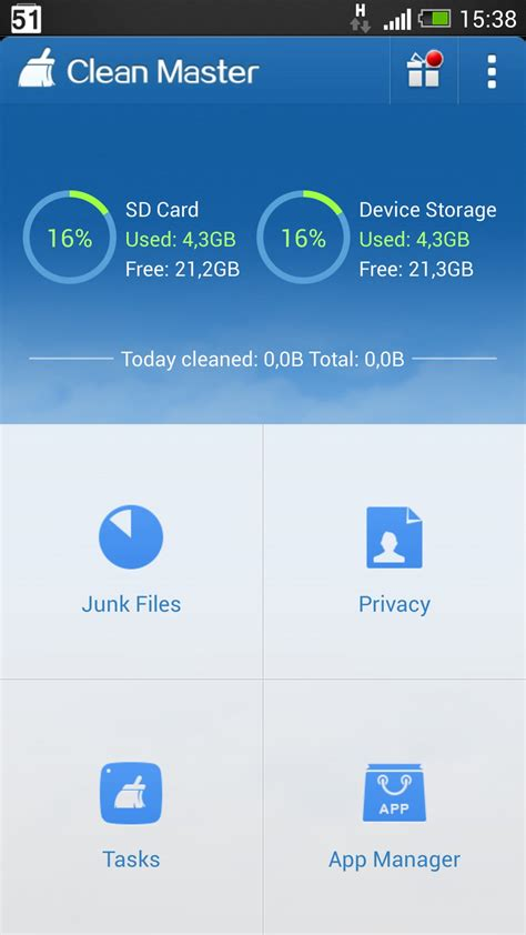 clean master for android tablet clean master for kindle free soft