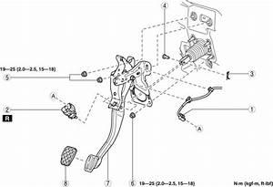 Mazda Cx-5 Service  U0026 Repair Manual - Brake Pedal Removal  Installation