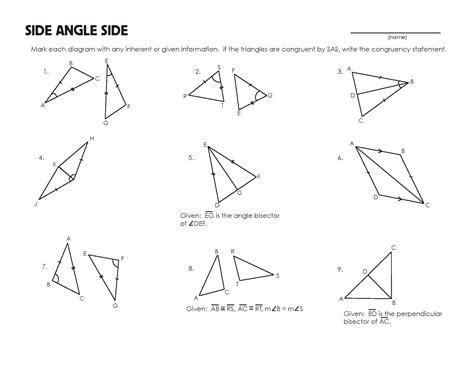 congruent triangles worksheet flora teaching geometry triangle worksheet congruent