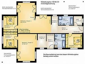Einfamilienhaus 200 M2 : winkelbungalow 159 98 61 mit einliegerwohnung ~ Lizthompson.info Haus und Dekorationen