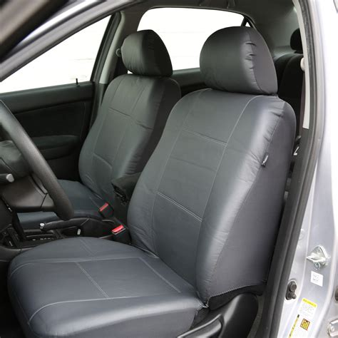 Auto Seat Upholstery by Fh Pu001102 Pu Leather Car Front Seat