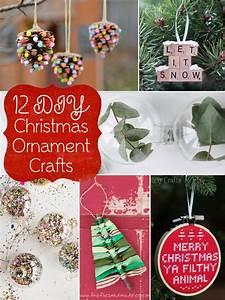 12, Diy, Christmas, Ornament, Crafts