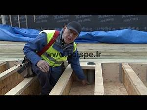 Realiser Un Plancher Bois : bien r aliser un plancher de rdc en bois youtube ~ Premium-room.com Idées de Décoration