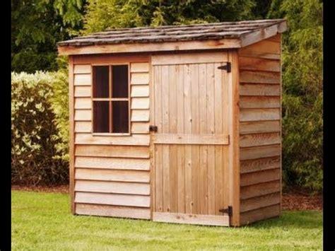 lean  shed plans blueprints  making  storage